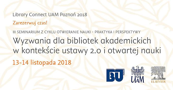 Library Connect Poznań 2018